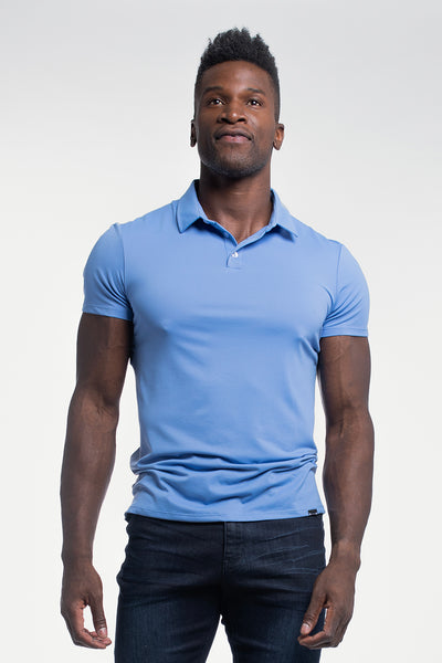 Havok Polo in Arctic Blue