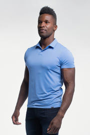 Havok Polo in Arctic Blue - thumbnail image no.4