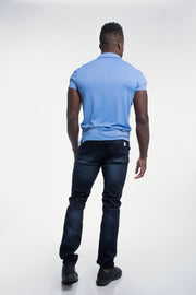 Havok Polo in Arctic Blue - thumbnail image no.3