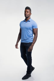 Havok Polo in Arctic Blue - thumbnail image no.2