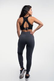 Contour Joggers in Charcoal - thumbnail image no.2