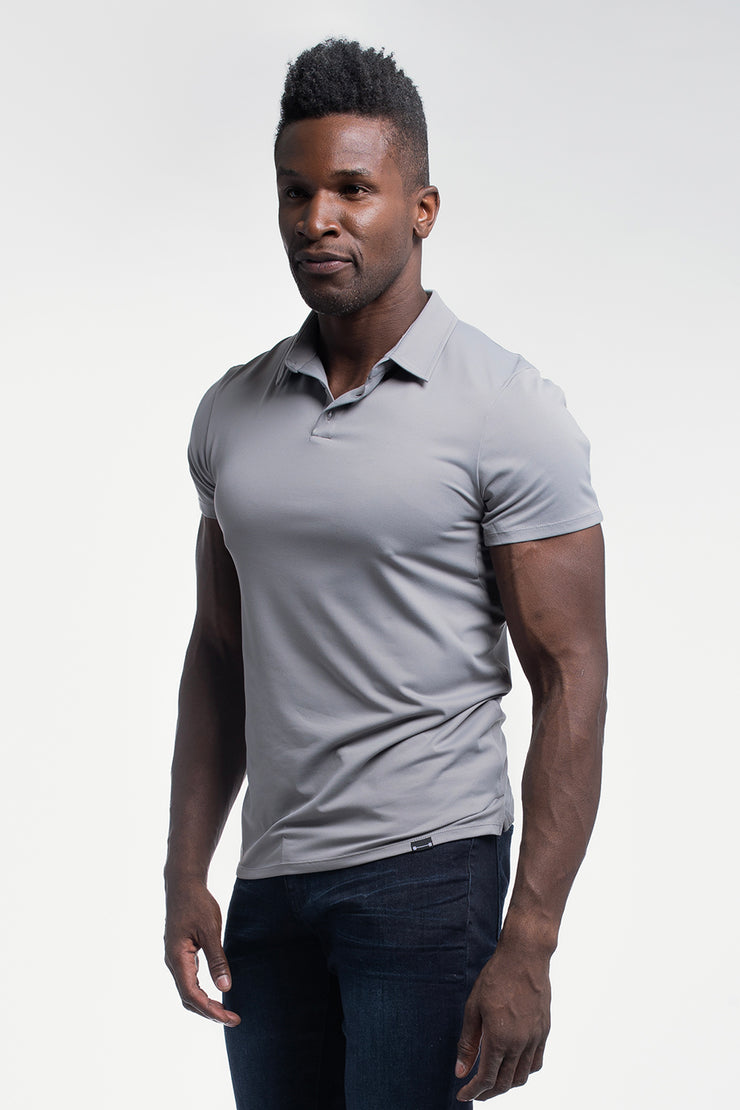 Havok Polo in Gray