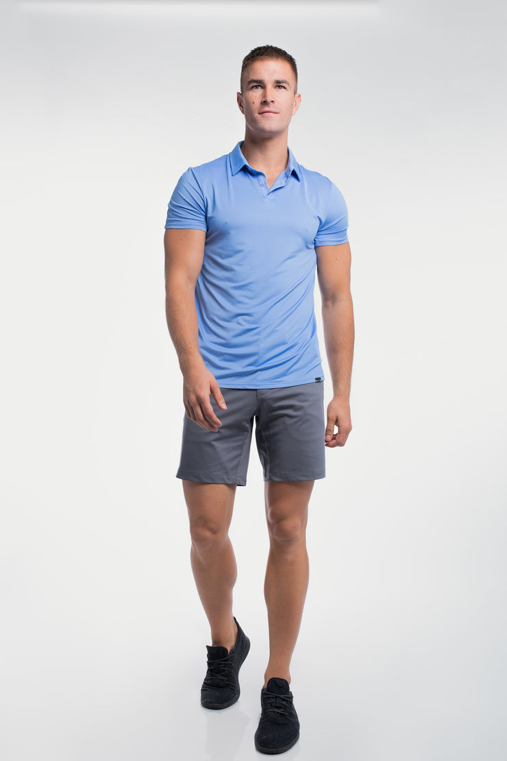 Ultralight Polo in Blue - image no.5
