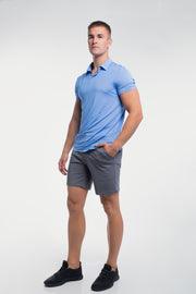 Ultralight Polo in Blue - thumbnail image no.2