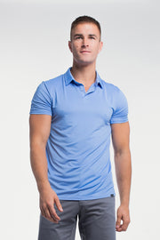 Ultralight Polo in Blue - thumbnail image no.1