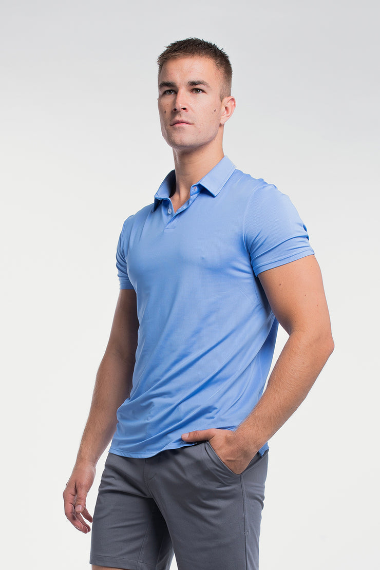 Ultralight Polo in Blue - image no.4