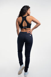 Slim Athletic Fit in Distressed Dark Wash - thumbnail image no.3