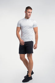 Stealth Polo in White Stripe - thumbnail image no.4