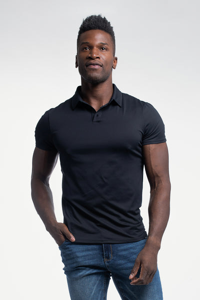Havok Polo in Black