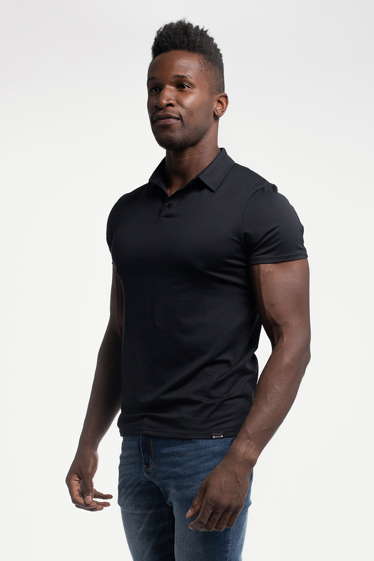 Havok Polo in Black - image no.4