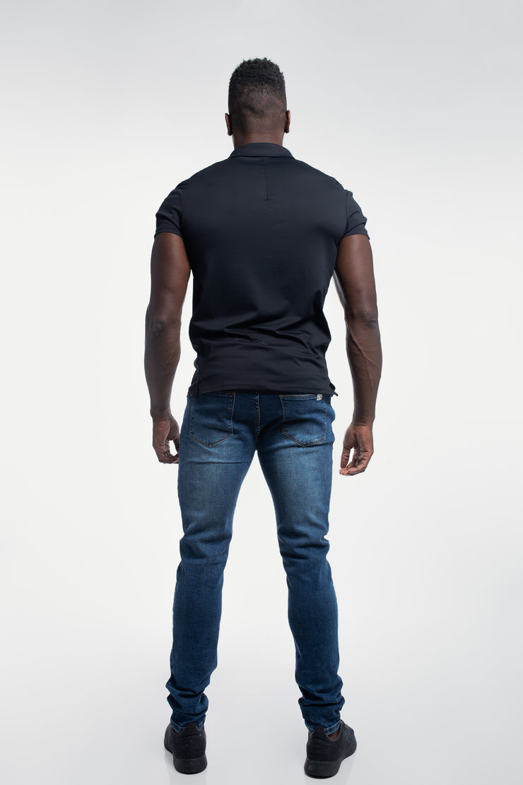 Havok Polo in Black - image no.3