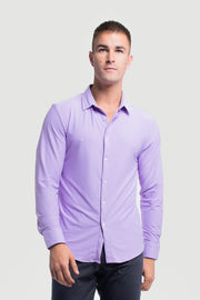 Motive Dress Shirt in Purple - thumbnail image no.1