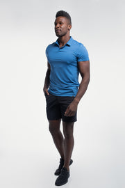 Ultralight Polo in Karlberry Blue - thumbnail image no.2