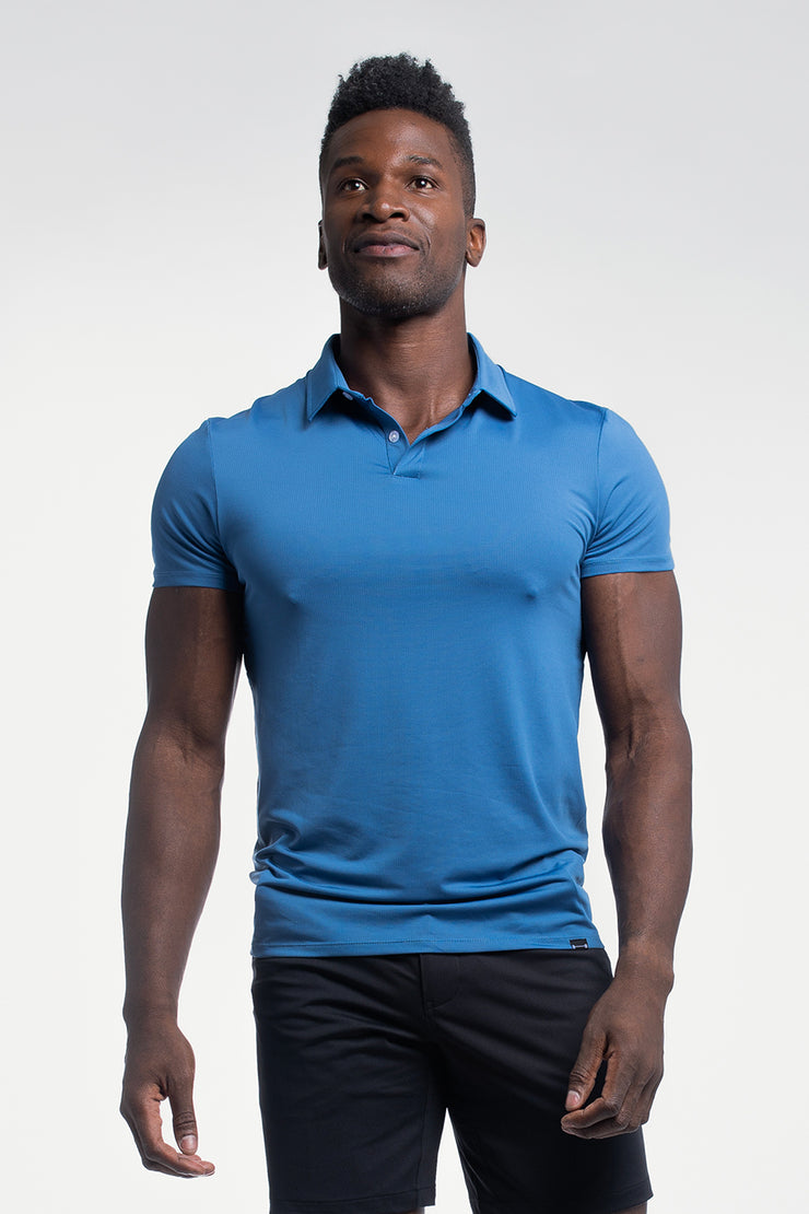 Ultralight Polo in Karlberry Blue - image no.1