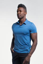 Ultralight Polo in Karlberry Blue - thumbnail image no.4