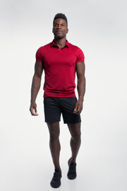 Ultralight Polo in Maroon - thumbnail image no.2