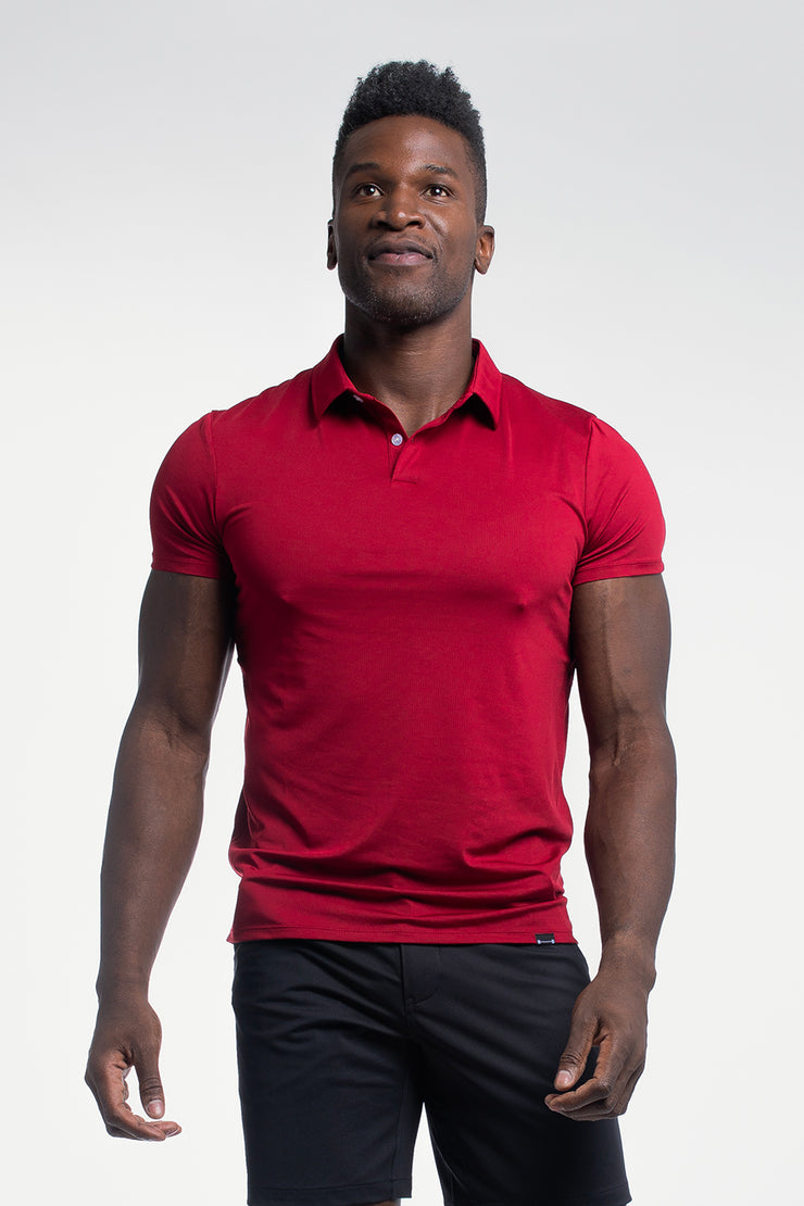 Ultralight Polo in Maroon - image no.4