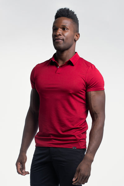 Ultralight Polo in Maroon