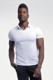 Ultralight Polo in White - thumbnail image no.1