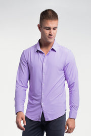 Motive Dress Shirt in Purple - thumbnail image no.5