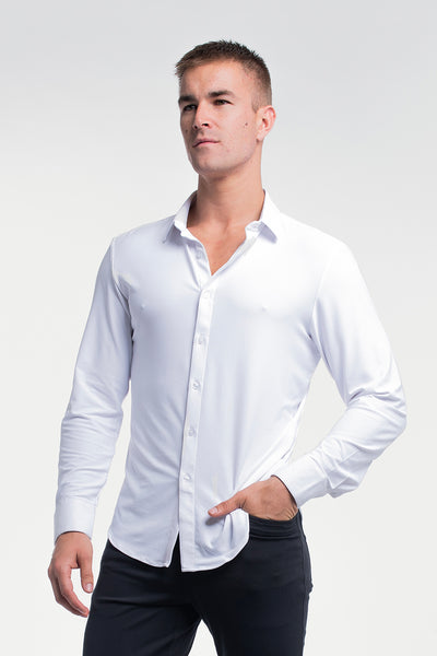Motive Dress Shirt in White