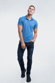 Havok Polo in Karlberry Blue - thumbnail image no.5