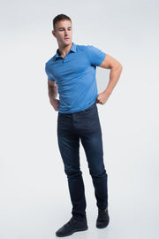 Havok Polo in Karlberry Blue - thumbnail image no.2