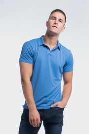 Havok Polo in Karlberry Blue - thumbnail image no.1