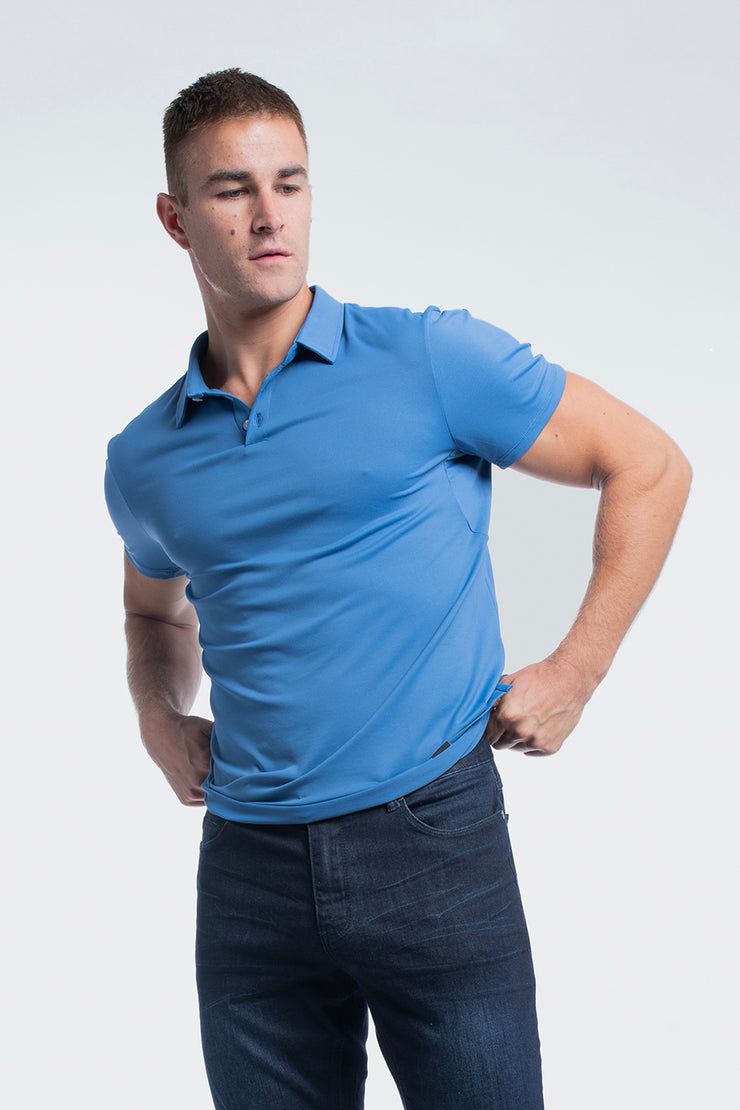 Havok Polo in Karlberry Blue