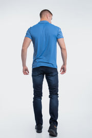 Havok Polo in Karlberry Blue - thumbnail image no.3