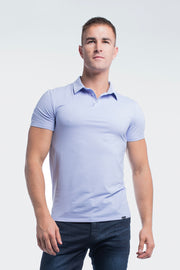 Havok Polo in Heather Purple - thumbnail image no.4