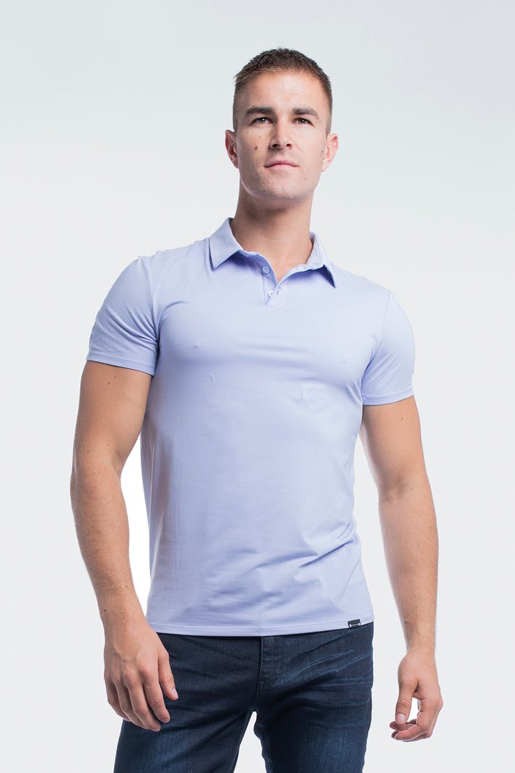 Havok Polo in Heather Purple - image no.4