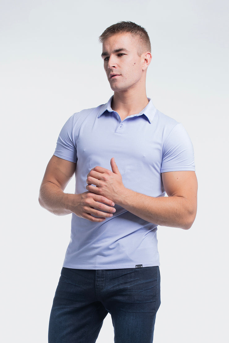 Havok Polo in Heather Purple - image no.1