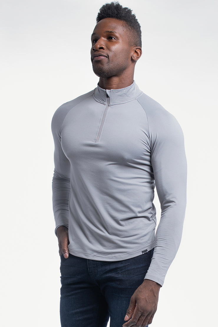Condor 1/4 Zip in Slate - image no.1