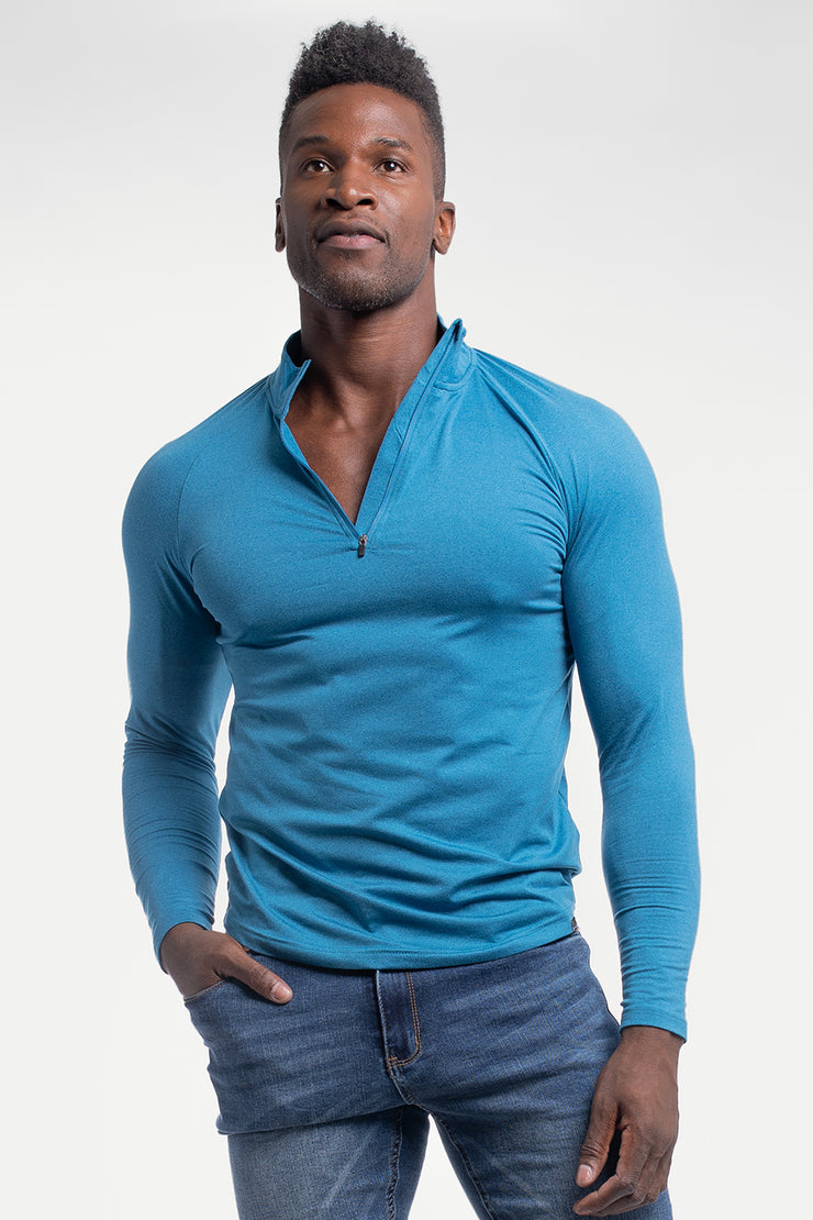 Condor 1/4 Zip in Cobalt - image no.1