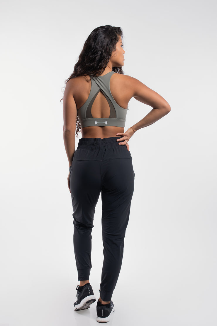 Women's Ultralight Joggers in Black - image no.3