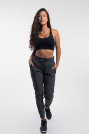 Women's Ultralight Joggers in Charcoal - thumbnail image no.1