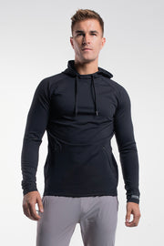 Stealth Hoodie in Black - thumbnail image no.1