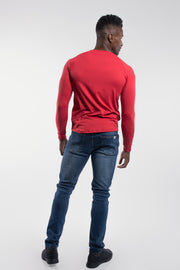 Scout Henley in Crimson - thumbnail image no.3
