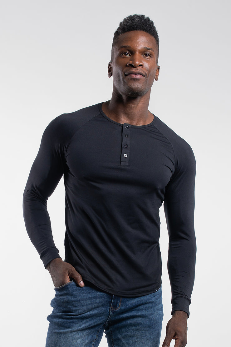 Scout Henley in Black - image no.1