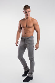 Boot Cut Athletic Fit in Cement - thumbnail image no.2