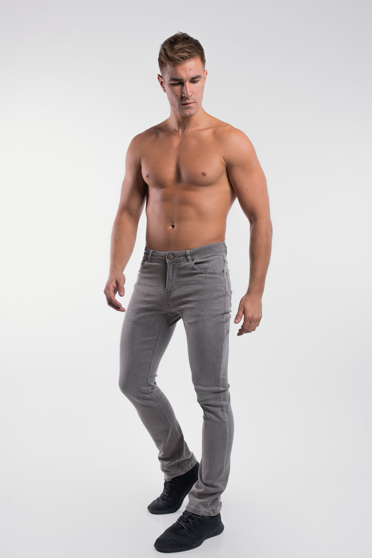 Boot Cut Athletic Fit in Cement - image no.2
