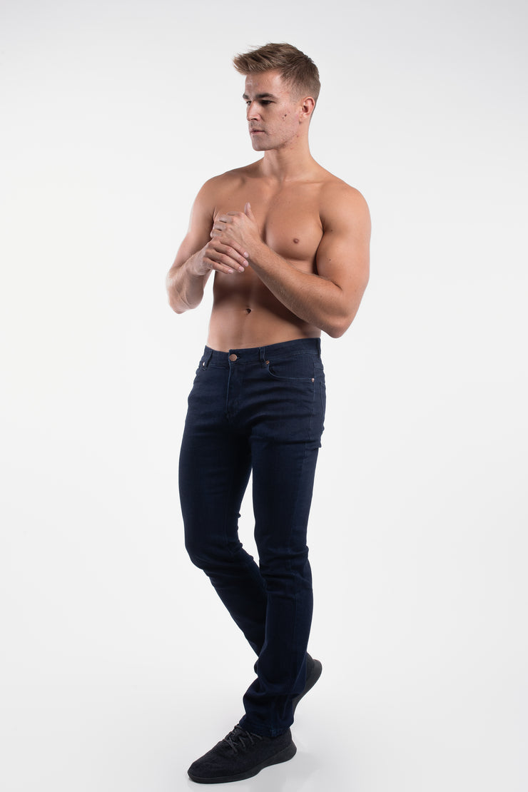 Boot Cut Athletic Fit in Dark Rinse - image no.2