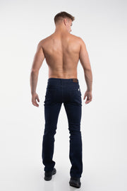 Boot Cut Athletic Fit in Dark Rinse - thumbnail image no.3