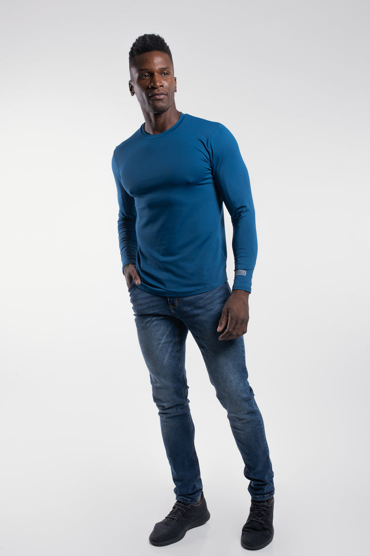 Havok Long Sleeve in Cobalt
