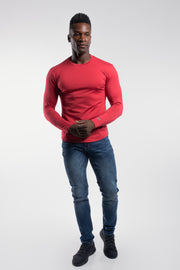 Havok Long Sleeve in Crimson - thumbnail image no.4