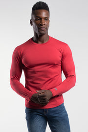 Havok Long Sleeve in Crimson - thumbnail image no.1