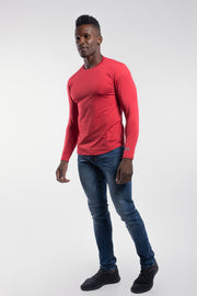 Havok Long Sleeve in Crimson - thumbnail image no.2