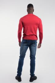Havok Long Sleeve in Crimson - thumbnail image no.3