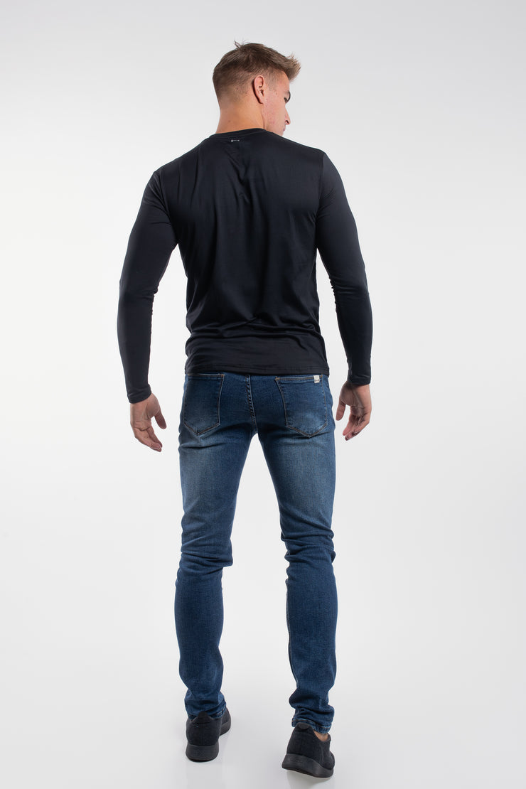 Havok Long Sleeve in Pitch Black - image no.3